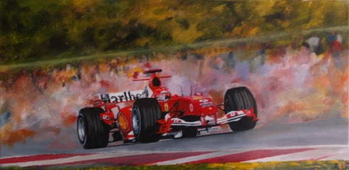 At His Best (Michael Schumacher 2004/5 season)