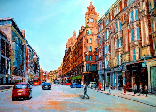 SOLD Brompton Road and Harrods