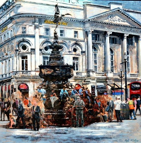 Piccadilly Circus In Summertime