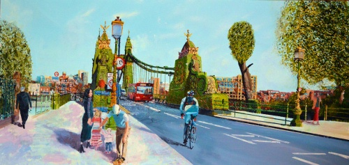 Hammersmith Bridge  - Click For More