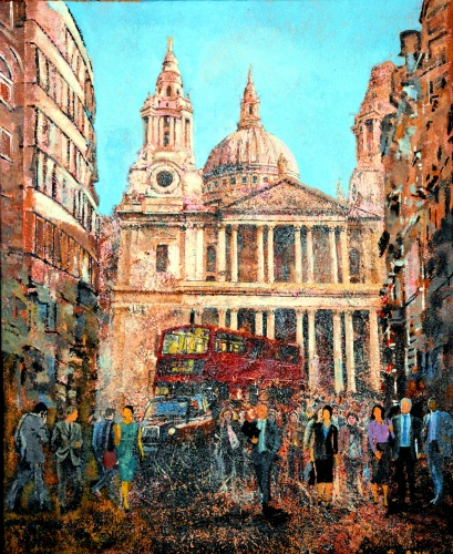 SOLD St Paul's Cathedral & Ludgate Hill London